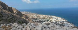 Sunniest Places in Greece - Santorini, Kamari