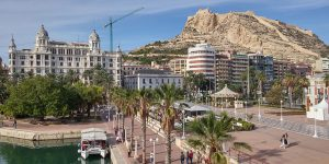Alicante Sunshine and Other Climate Data